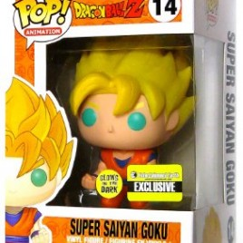 FUNKO POP ANIMATION DRAGONBALL Z SUPER SAIYAN GOKU GITD
