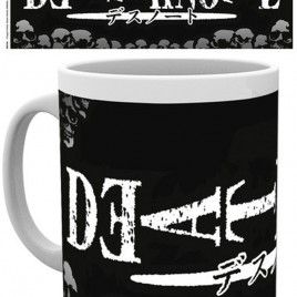 DEATH NOTE LOGO MUG