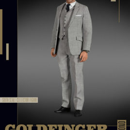 007 1/6 JAMES BOND CONNERY GOLDFINGER AF
