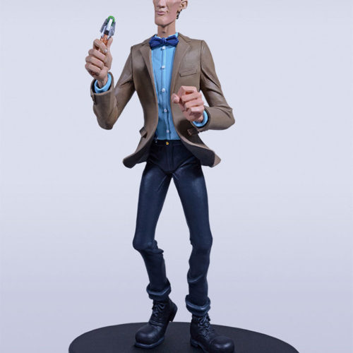 statue 11th doctor