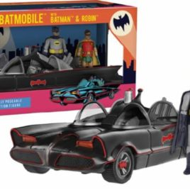 FUNKO ACTION FIGURE DC HEROES 1966 BATMOBILE