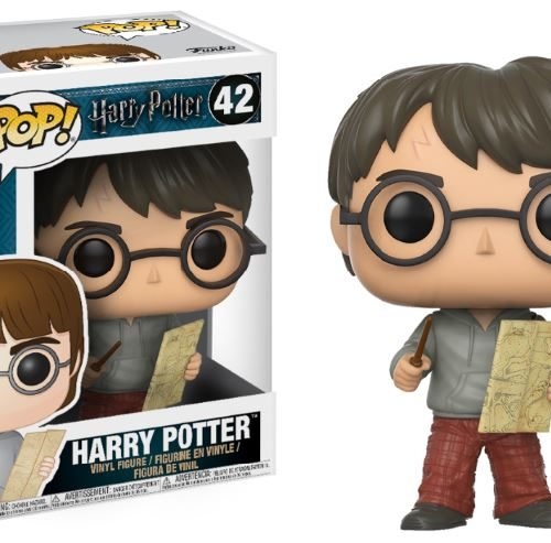 funko pop harry potter with marauders map