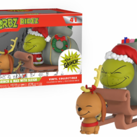 FUNKO DORBZ RIDEZ THE GRINCH MAX & SLED
