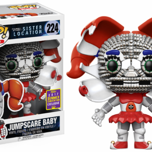 funko pop jumpscare baby