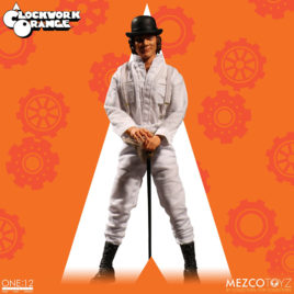 A CLOCKWORK ORANGE CLOTH FIGURE