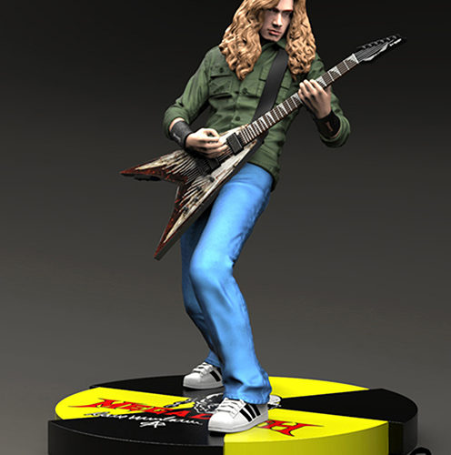 statue dave mustaine