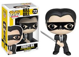 FUNKO POP MOVIES KILL BILL CRAZY
