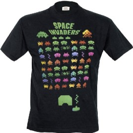 Space Invaders – Multi Coloured