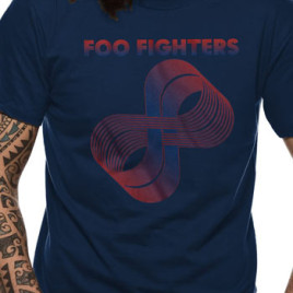 Foo Fighters – Loops Logo Navy