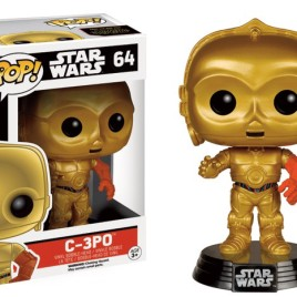 FUNKO POP STAR WARS EPISODE 7 C3-PO