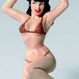 BETTIE PAGE ORNAMENT