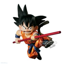 DRAGON BALL SCULTURES METALIC YOUNG SON GOKU