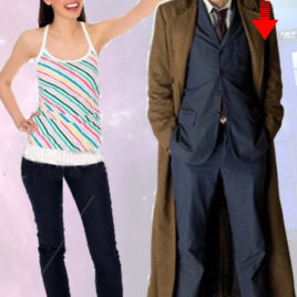 DOCTOR WHO 10TH DOCTOR CUTOUT
