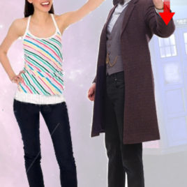 DOCTOR WHO 11TH DOC W SCREWDRIVER CUTOUT