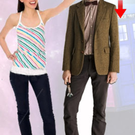 DOCTOR WHO 11TH DOCTOR CUTOUT
