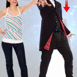 DOCTOR WHO 12TH DOCTOR CUTOUT