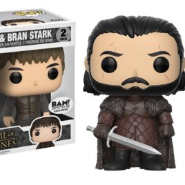 FUNKO POP GAME OF THRONES JON SNOW AND BRAN STARK 2 PACK