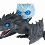 funko pop rides night king on dragon