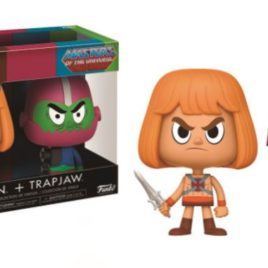 FUNKO VYNL MASTER OF THE UNIVERSE HE-MAN & TRAPJAW