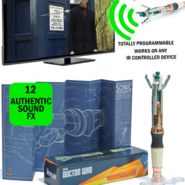 DR WHO 12TH DR SCREWDRIVER UNIVERSAL RC