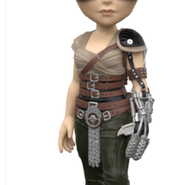 FUNKO ROCK CANDY MAD MAX FURY ROAD FURIOSA