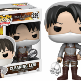 FUNKO POP ATTACK ON TITAN CLEANING LEVI