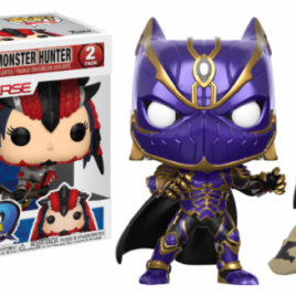 FUNKO POP BLACK PANTHER VS MONSTER HUNTER