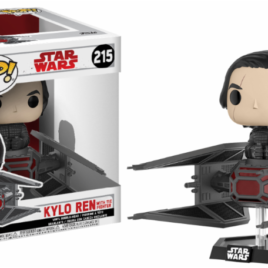 FUNKO POP DELUXE STAR WARS KYLO REN ON TIE FIGHTER