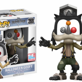 FUNKO POP NYCC 2017 KINGDOM HEARTS HALLOWEEN GOOFY