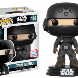 FUNKO POP NYCC 2017 STAR WARS ROGUE JYN DISGUISE