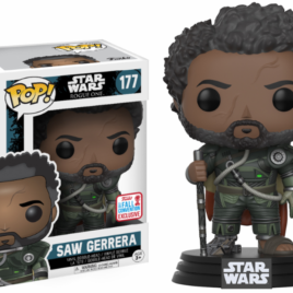 FUNKO POP NYCC 2017 STAR WARS ROGUE SAW GERRERA