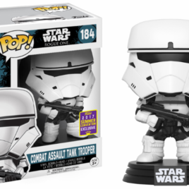 FUNKO POP SDCC 2017 STAR WARS RO COMBAT ASSAULT TANK TROOPER