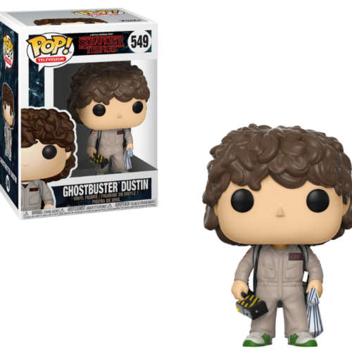 funko pop dustin ghostbuster