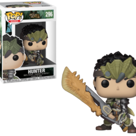 FUNKO POP MONSTER HUNTERS MALE HUNTER