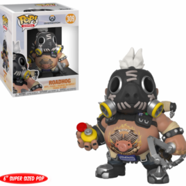 FUNKO POP OVERWATCH S3 ROADHOG OVERSIZED