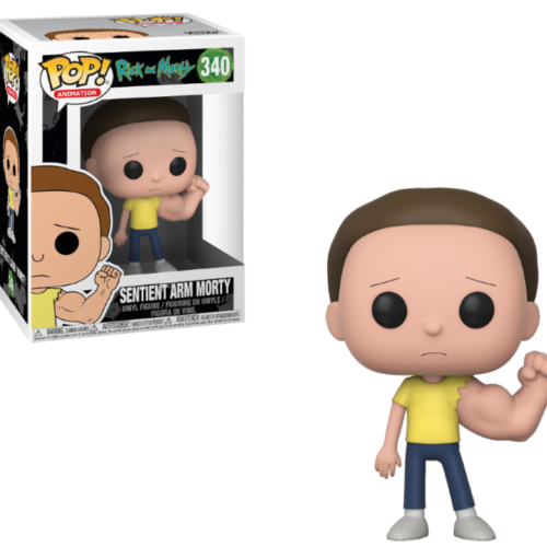 funko pop sentinent arm morty