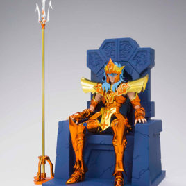 SAINT SEIYA CLOTH MYTH EX POSEIDON JULIAN SOLO IMPERIAL THRONE SET