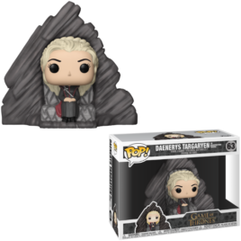 FUNKO POP GAME OF THRONES DAENERYS ON DRAGONSTONE THRONE