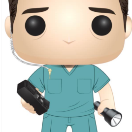 FUNKO POP STRANGER THINGS S2 W5 BOB IN SCRUBS