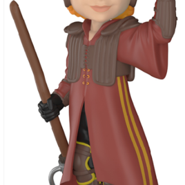 FUNKO ROCK CANDY HARRY POTTER RON IN QUIDDITCH UNIFORM
