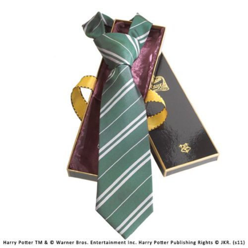 slytherin silk necktie