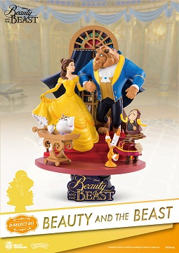 figures beauty and the beast