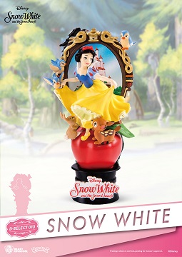D-SELECT SNOW WHITE&SEVEN DWARTS DIORAMA