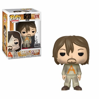 funko pop daryl in prison outfit