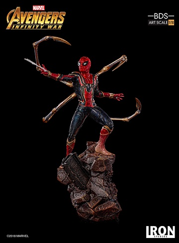 diorama iron spider-man