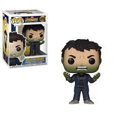 FUNKO POP BANNER WITH HULK HEAD