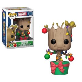 FUNKO POP GROOT WITH LIGHTS & ORNAMENTS
