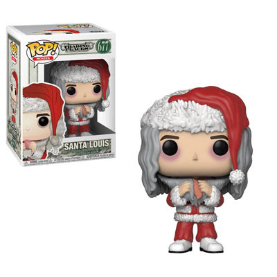 funko pop santa louis with salmon