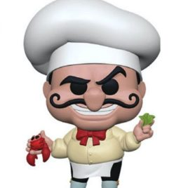 FUNKO POP LITTLE MERMAID CHEF LOUIS