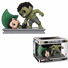 FUNKO POP MOMENT MARVEL HULK SMASHING LOKI